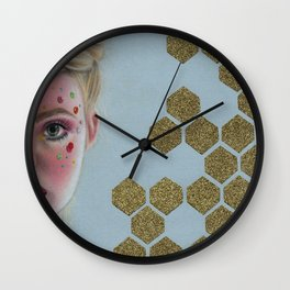 Neon Elle Wall Clock