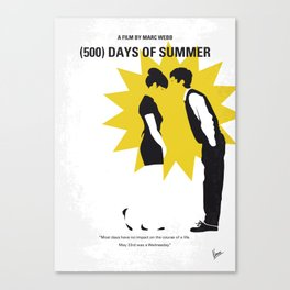 No500 My 500 Days Of Summer mmp Canvas Print