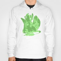 hiccup Hoodies featuring Shadow Dragon by tonksiford