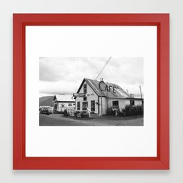 Seaview Cafe - Hope, AK Framed Art Print