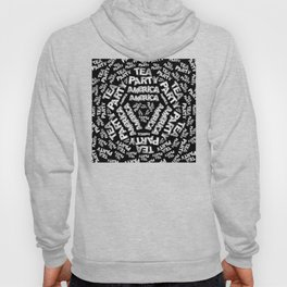 Tea Party Collage Hoody