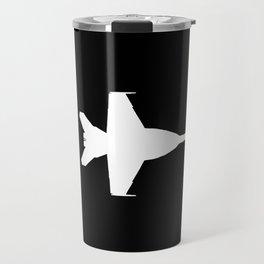 F-18 Hornet Fighter Jet Travel Mug