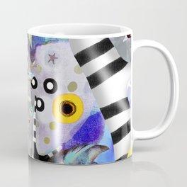 We gotta get away from here - Venzuela - BIRDS STRIPED TREE Coffee Mug