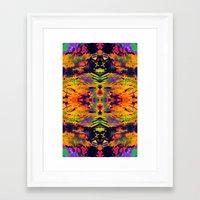 boho Framed Art Prints featuring boho by Iris Lehnhardt