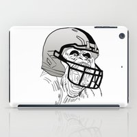 nfl iPad Cases featuring American Football Gorilla by raeuberstochter