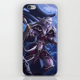 Fighting for her people iPhone Skin