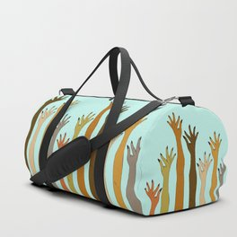 Hands Don't Judge - Size Don't Matter ... NOT! ;) Duffle Bag