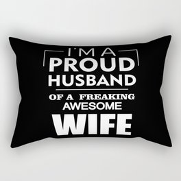 Awesome Wife Rectangular Pillow