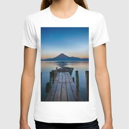 The Dock Sunset (Color) T-shirt