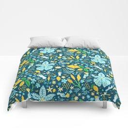 Santorini Flora Comforters