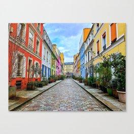 Parisian Perfection: Rue Crémieux Canvas Print