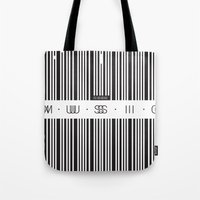code Tote Bags featuring Music Code by Sitchko Igor