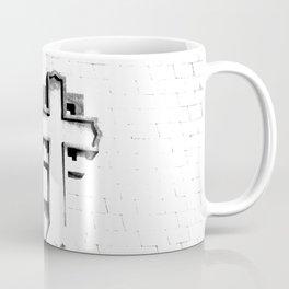 CROSS - Bl & Wh Coffee Mug