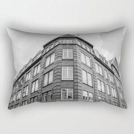 Brick Building Rectangular Pillow