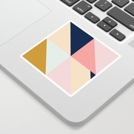 Geometric Pattern IX Sticker