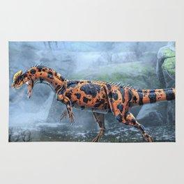 Dilophosaurus Wetherilli Restored Rug