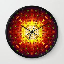 Optical Hopscotch Wall Clock