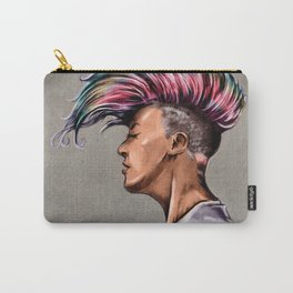 RGD Punk Rock Girl Portrait | Nikki the Bee Carry-All Pouch