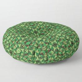 Wari III Pattern Floor Pillow