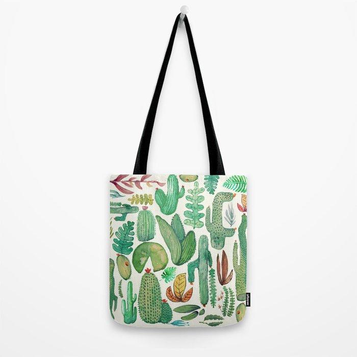 nature pattern collab. Tote Bag
