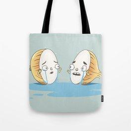Tearful Breakup Tote Bag