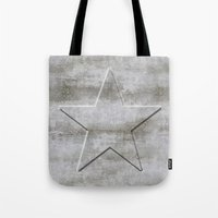 solid Tote Bags featuring Solid Star by LebensART