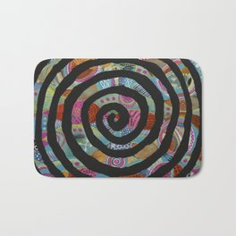 """Tribal Vibrations"" Bath Mat"