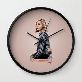 NOORA AMALIE SÆTRE Wall Clock