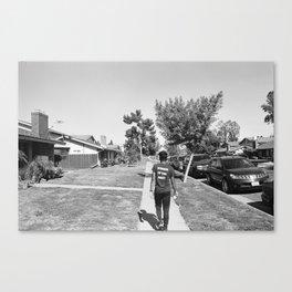 Runner of the Meet Canvas Print
