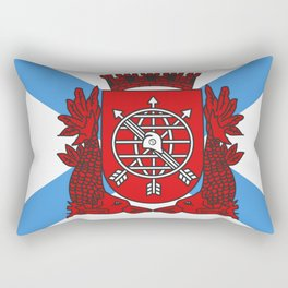 flag of Rio de Janeiro Rectangular Pillow