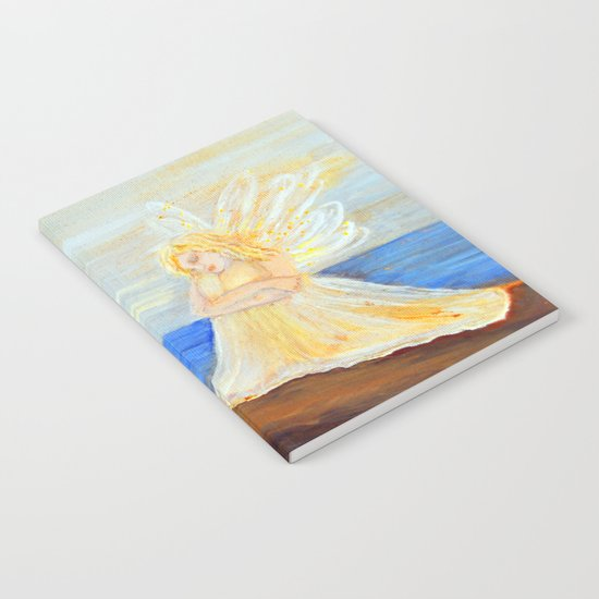 Invite your Angel | Angels are here Notebook