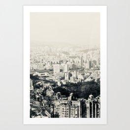 Endless Skylines (1) Art Print