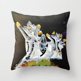 Sea Slugs Throw Pillow