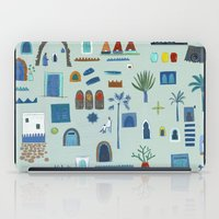 morocco iPad Cases featuring Morocco Sketch by Nic Squirrell