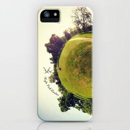 PARK PLANET PROJECT - HYDE PARK LONDON  iPhone Case