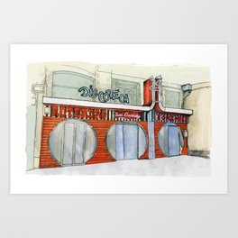 Roterdao Club Art Print