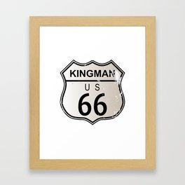 Kingman Route 66 Framed Art Print