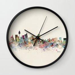 sydney skyline Wall Clock