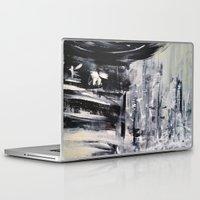 singapore Laptop & iPad Skins featuring Singapore I by Kasia Pawlak