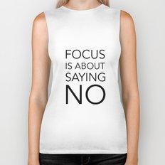 Focus is about.... Biker Tank