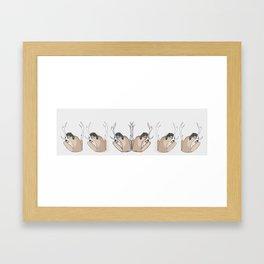 She's A Camper Framed Art Print