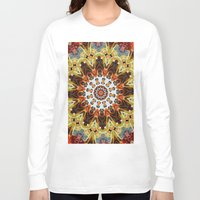 southwest Long Sleeve T-shirts featuring southwest pattern by North 10 Creations