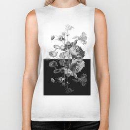 BL+Wh shirt Biker Tank