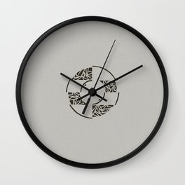 Contained Wall Clock