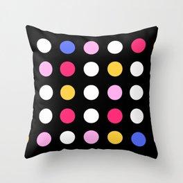 A Little Bit of Color Throw Pillow
