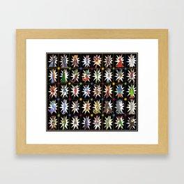 Addicted to Heroines Framed Art Print