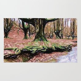 Whispers Among Trees Rug