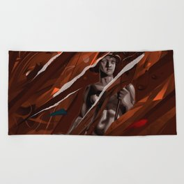 Antiquity Beach Towel