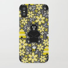 Bear and Bees iPhone X Slim Case