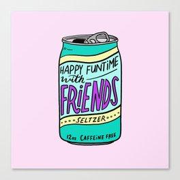 HFTWF Seltzer Canvas Print